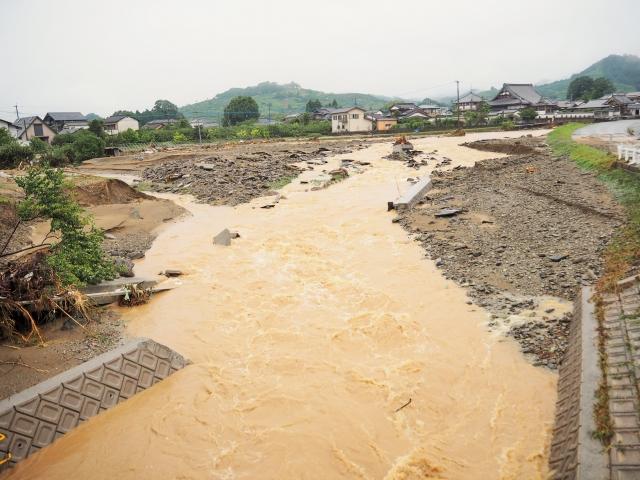 田畑が大雨に見舞われた時にすべき行動とは│画像2