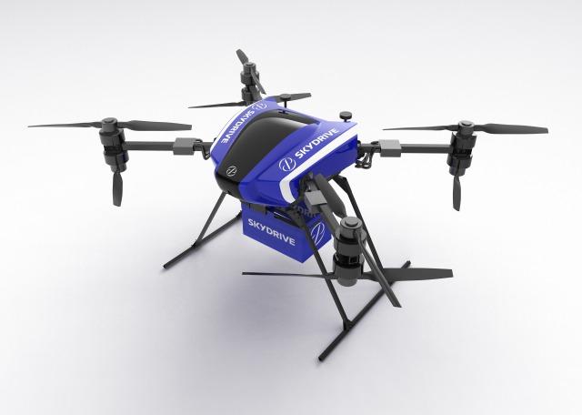 『空飛ぶクルマ』を開発するSkyDrive(スカイドライブ)が30kg以上運搬可能な産業用『カーゴドローン』の実証実験・予約販売を開始!~大林組ほか数社と生産性向上および危険作業のリスク低減を目指す
