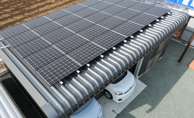 太陽光事業 エネルギーを自給自足できる世の中へ
